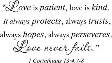 bible verse about love is patient and kind