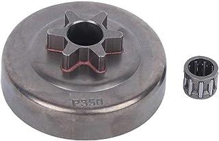 3 / 8In 6t Kit de cojinete de tambor de embrague de aleación Fit for Partner 350 351 352 370 370 371 390 420 Rodamiento de agujas de motosierra Rodamiento de bolas
