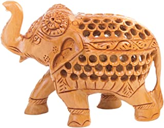 Best hand carved wooden elephants Reviews