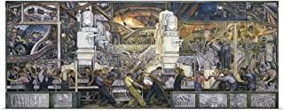 GREATBIGCANVAS Entitled Detroit Industry, North Wall, 1932-33 Poster Print, 48