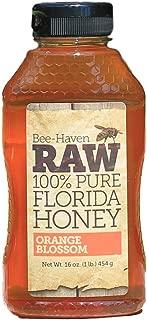 Bee-Haven Honey Farm Raw 100% Pure Orange Blossom Honey