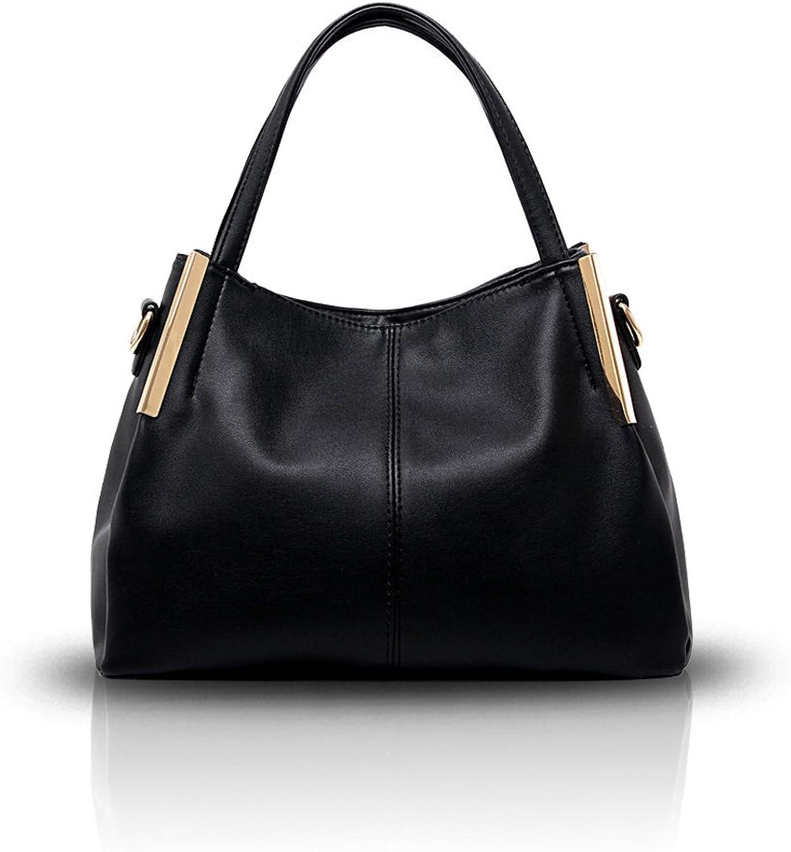 Nicole &Doris ny Ladies Axel crossbody  Messenger väska väska väska Handväska PU läder mode svart  ta upp till 70% rabatt