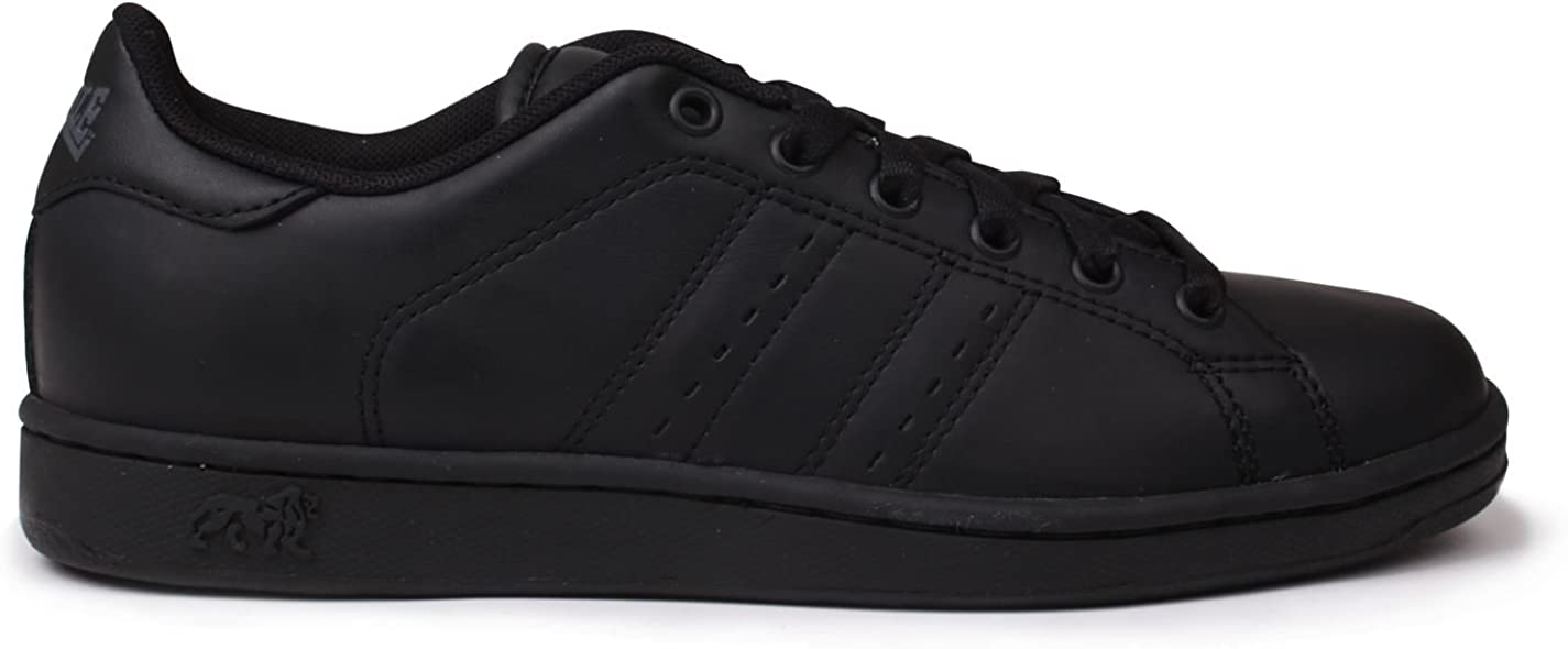 Lonsdale Kids Leyton Leather Trainers