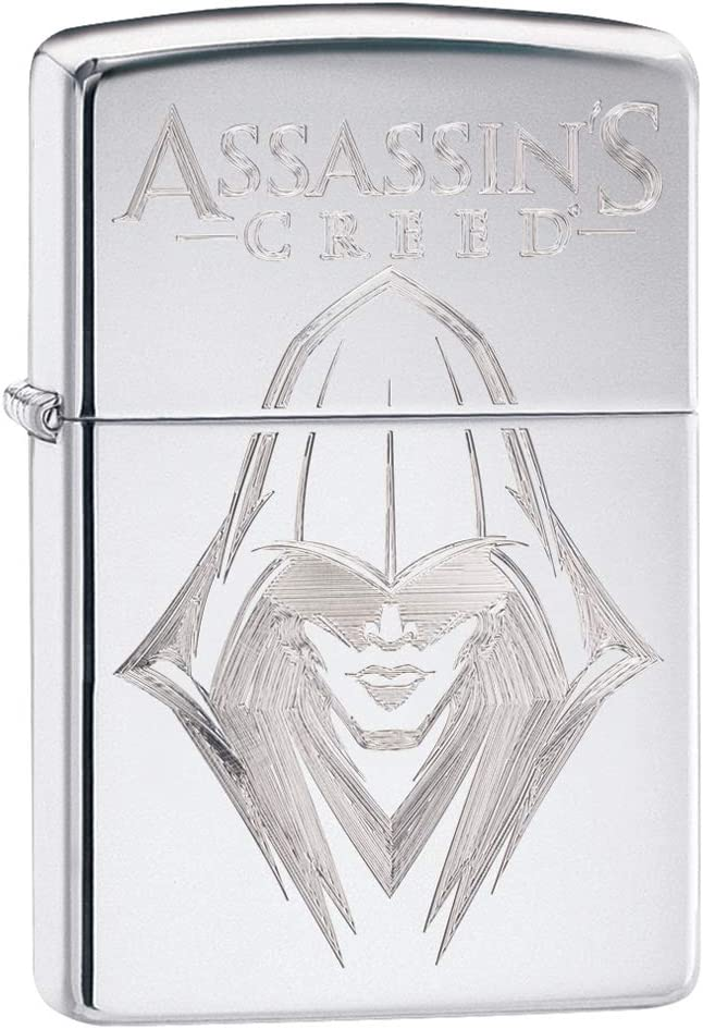 Zippo Free Shipping Cheap Bargain Gift Assassin's Creed wholesale Lighters