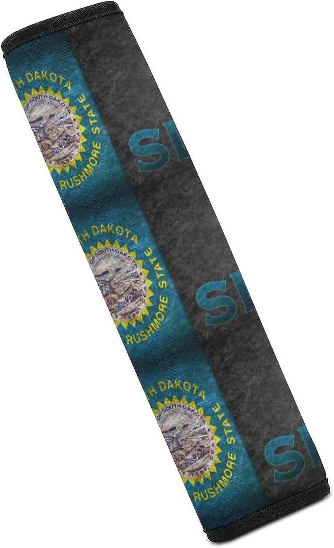 WXUEH Industry No. 1 Flag and State Abbreviation South Las Vegas Mall Dakota Car Belt Sho Seat