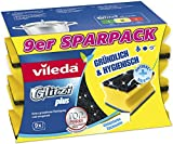 Vileda Glitzi Plus Topfreiniger, 9er Pack