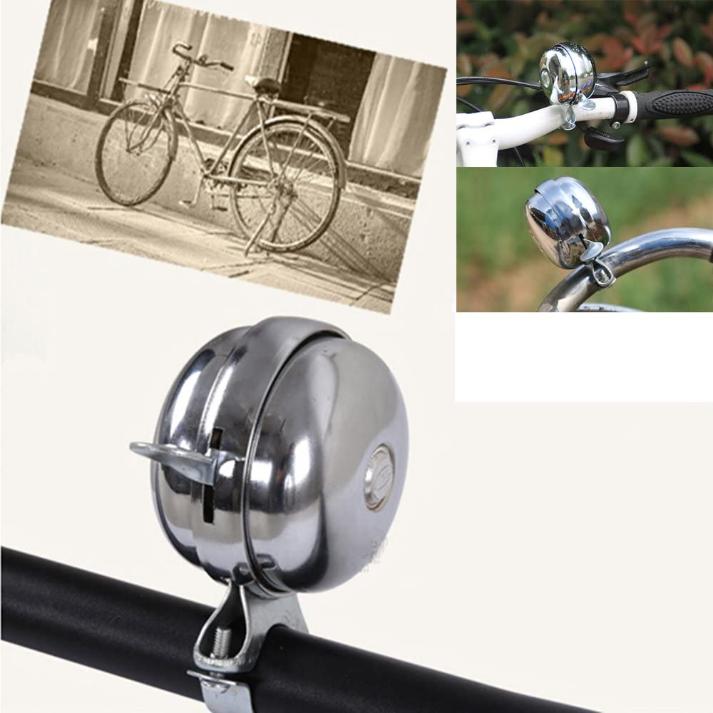 Classic Bicycle Horn Metal Retro Bike Cycling Handlebar Ring Bell Sound Alarm