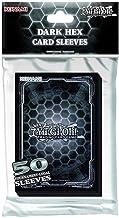 Konami KONDHCS Standard Back Yu-Gi-Oh-Dark Hex Card Sleeves (50 Pack)