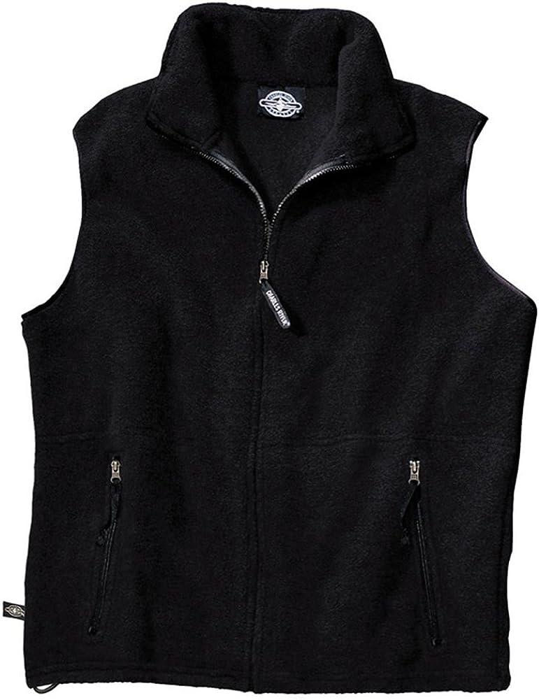 Charles River Apparel Men's Ridgeline Fleece Vest, Small, Black