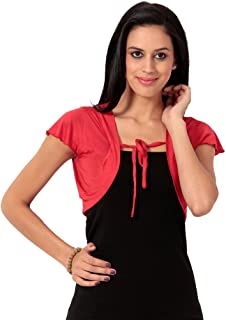 Teemoods Women's Viscose Short Shrug, Fashion Shrug, Ladies Shrug for Summer