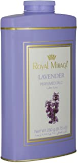 Royal Mirage Perfumed Talc For Women, Lavender, 250 gm
