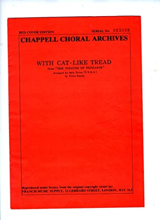 With Cat-like Tread Arranged for male voices (T. T. B. B.) by Felton Rapley, etc. [Staff and tonic sol-fa notation.]