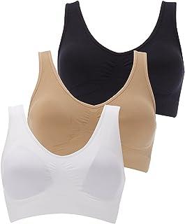 Boolavard/® TM Reggiseno delle Donne Senza Giunte del Reggiseno Libero Crop Top Vest New Reggiseni Sportivi Bandeau Comfort Comfy