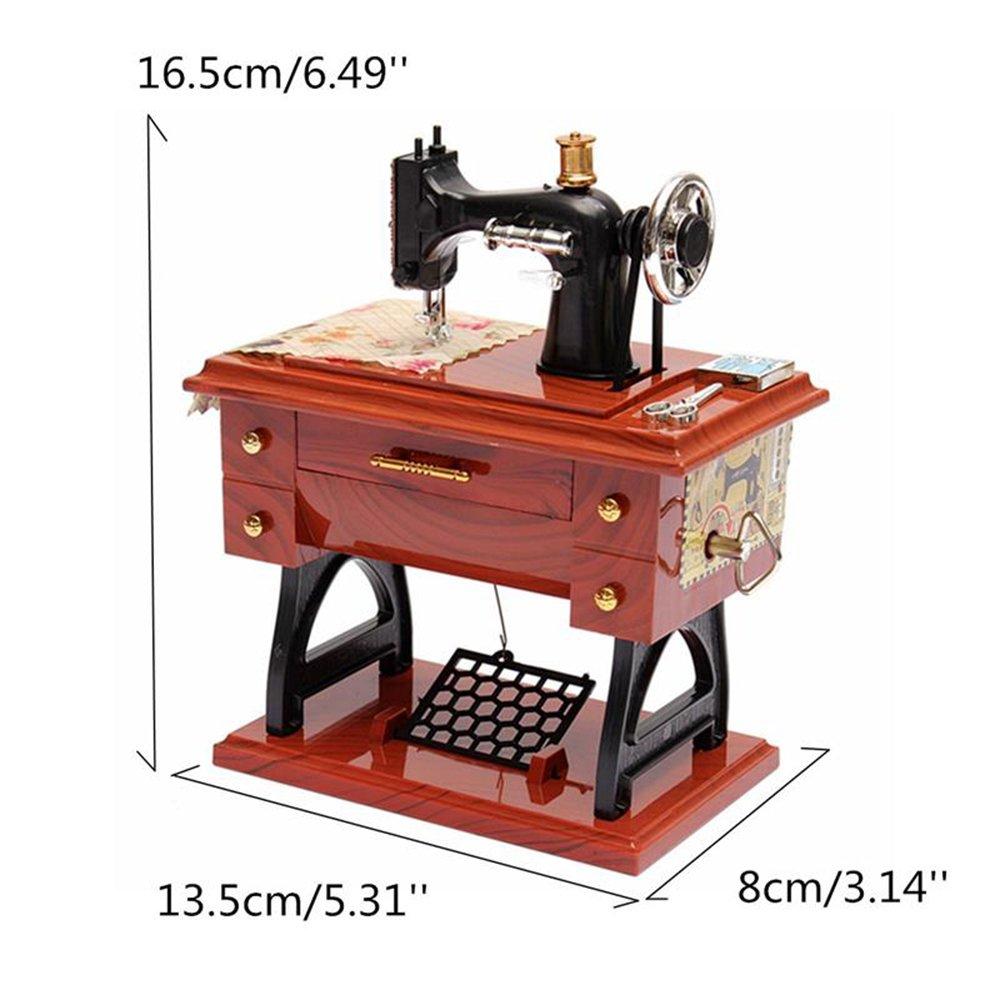 ToxTech Máquina de coser caja de música, máquina de coser de ...