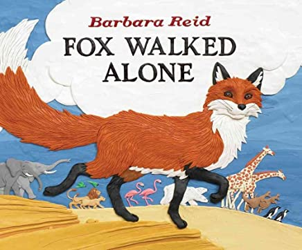 [(Fox Walked Alone)] [By (author) Barbara Reid ] published on (September, 2009)