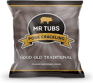 Mr Tubs Good Old Traditional Pork Crackling Bags, 28 g