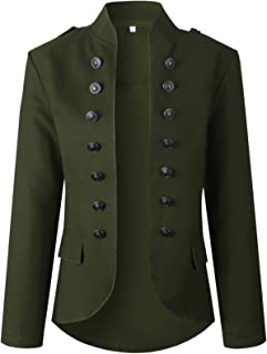 Steampunk Militar Marching Chaqueta