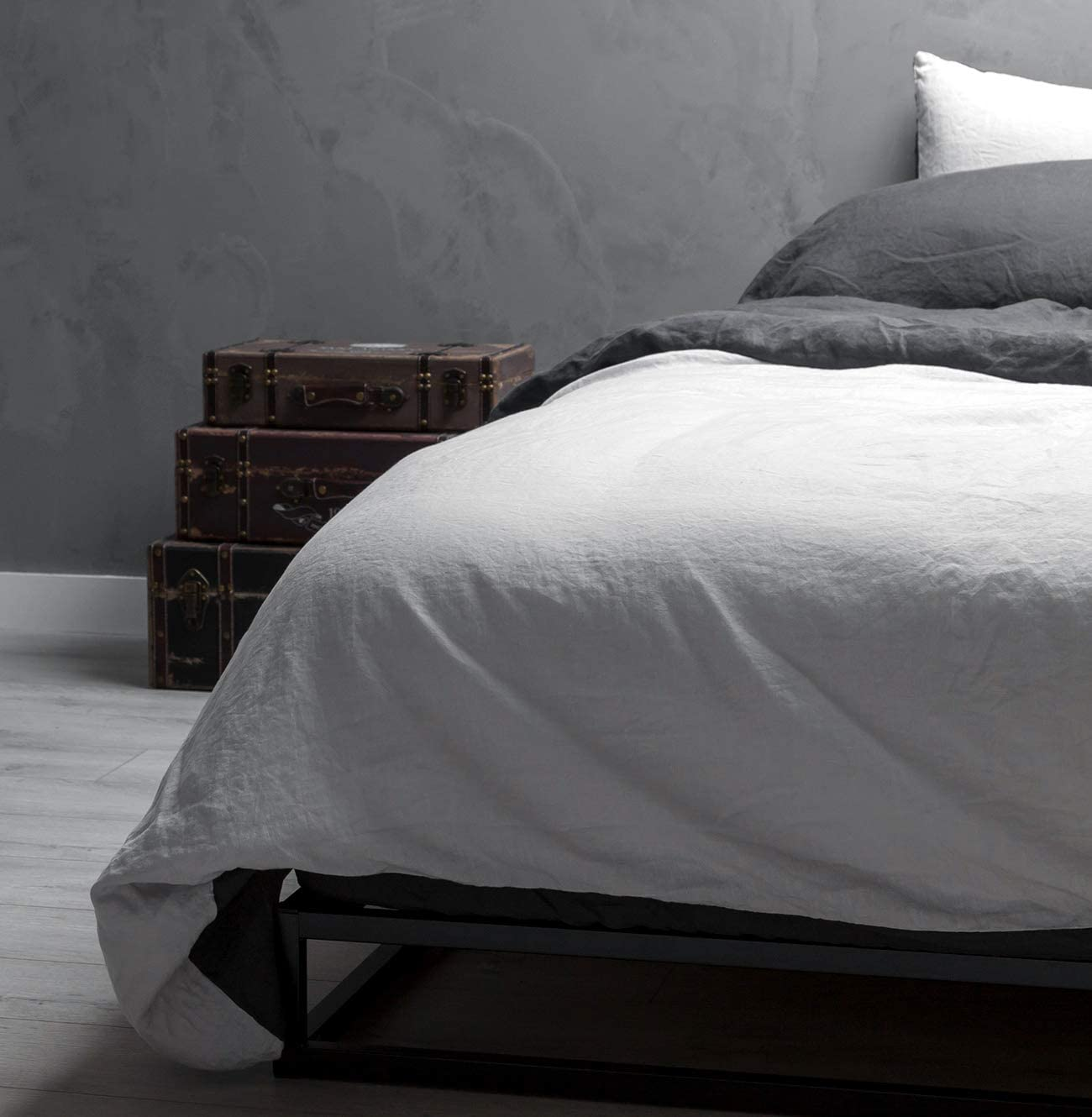 Wooflinen Max 86% OFF 100% Stone Washed French Linen Bed Sale + Piece Set 6 Duvet