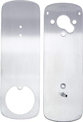Ultraloq UUL-UL3-DCP-SN UL3 BT Deadbolt Cover Plate, Accessory, Satin Nickel