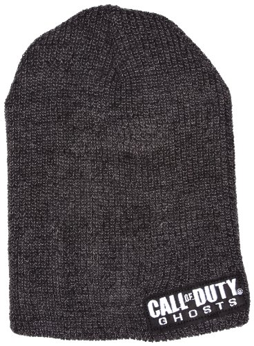 CALL OF DUTY Ghosts Logo Bonnet, Noir, (Taille Fabricant: One Size) Mixte