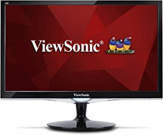ViewSonic VX2252MH 22 Inch 2ms 75Hz 1080p Gaming Monitor with HDMI DVI and VGA Inputs, Black