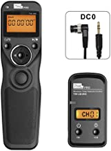 TW-283 DC0 Wireless Remote Shutter Release Cable Wired Timer Remote Control for Nikon D850 D800 D810 D700 D300 D300S D200 ...