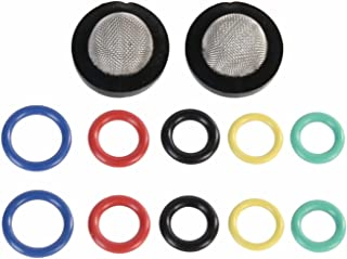 Erie Tools Inlet Water Garden Filter and O-Ring Kit for Pressure Washer Guns Wands & Hoses