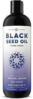 Organic Black Seed Oil - Premium Nigella Sativa Black Cumin Supplement with Thymoquinone & Omega 3 6 9-100% Pure, Extra Vi...