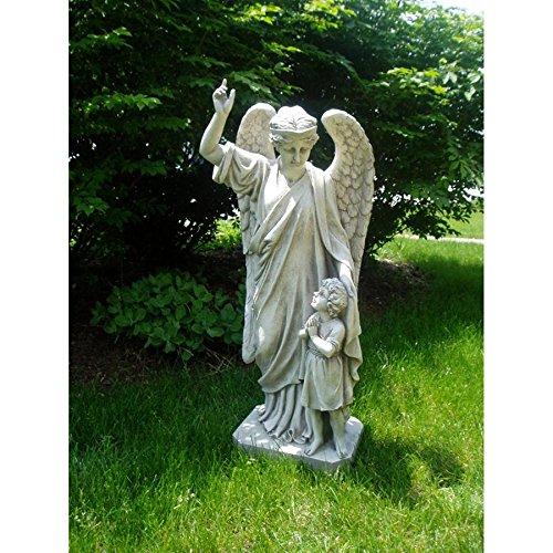 Design Toscano Schutzengel Kindergebet, Gartenstatue