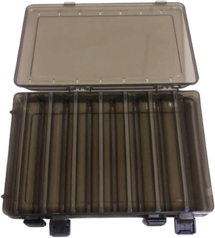 N\C Orange Black Fishing Tackle Max 54% OFF Boxes F Translated Box Double Storage Sided