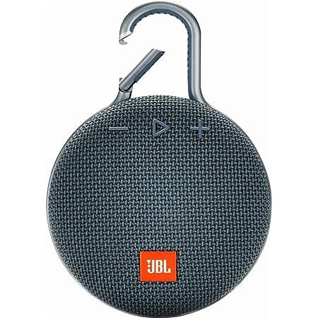 Amazon Com Jbl Clip 3 Waterproof Portable Bluetooth Speaker Blue Jblclip3bluam Renewed Electronics