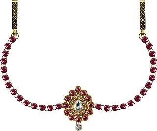 Vidhya Kangan Belly Chains for Women (Pink) (bro342)