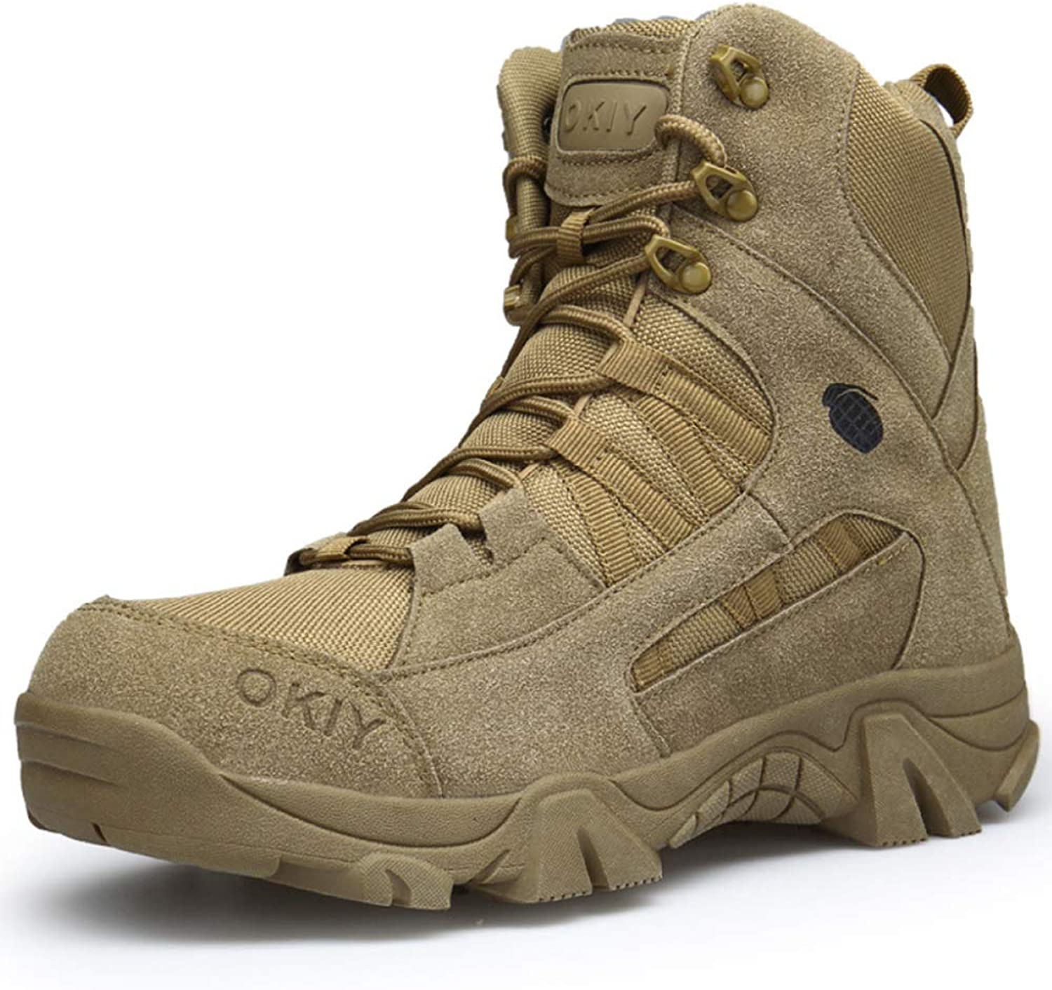Mens Martin Boot Outdoor Desert Army Combat Boots Comfortable Breathable Military Armed Tactics shoes Police Patrol Footwear