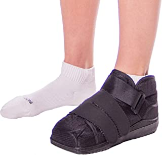 BraceAbility Closed Toe Medical Walking Shoe Protection Boot-L