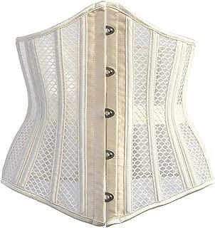 Women's 26 Steel Bone Shaper Girdle Belt Ultra Breathable Mercerized Fabric Cleavage Tight Corset Corset Slimming Waist Abdominal Training Device