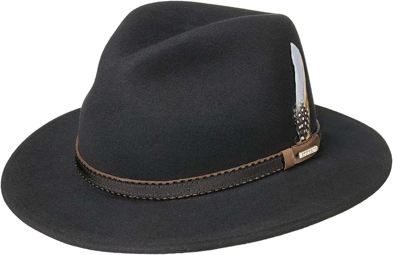 Purchase Stetson Valrico VitaFelt Traveller Hat USA Men - Made in 5 ☆ popular