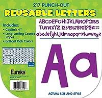 Eureka教室Deco Letters–AシャープBunchパープル