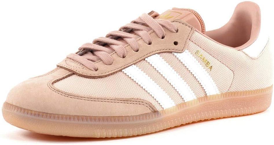 adidas Originals Baskets Samba Femme,Rose,FR: 39 1/3 : Amazon.fr ...