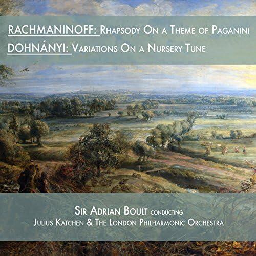 The London Philharmonic Orchestra, Sir Adrian Boult & Julius Katchen