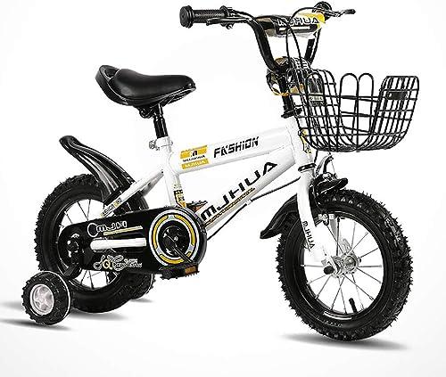 muy popular Brojoher's HouseYX Bicicleta Bicicleta Bicicleta para Niños 12 14 16 18 Pulgada 2-9 años de Edad Cochecito de Niño y Hembra de bebé Bicicleta Infantil  tienda en linea