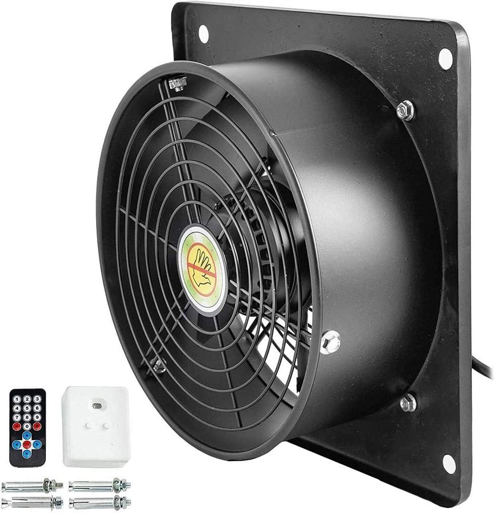 Extractor Cocina, Extractor de Baño Extractor Extractor industrial metal axial Ventilación profesional de aire del ventilador del ventilador de velocidad variable 10