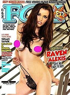 Adult Magazine RAVEN ALEXIS FOX #230 2017 TIFFANY TAYLOR RHIANNA RYAN Eva Long with Bonus DVD