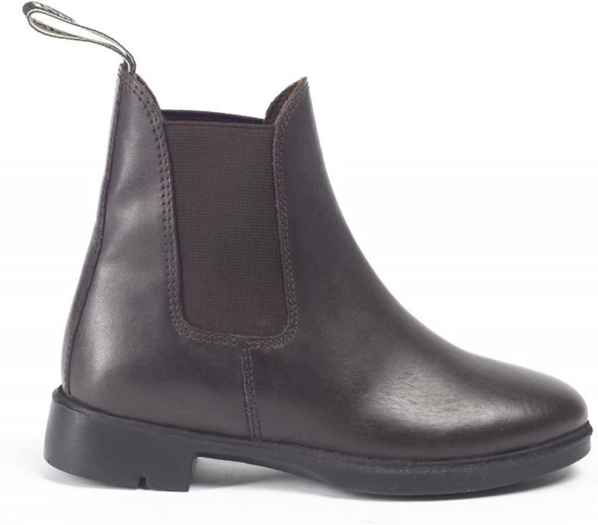 Brogini Childrens/Kids Pavia Piccino Leather Paddock Boots