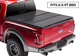 Rugged Liner Premium Hard Folding Truck Bed Tonneau Cover | HC-F6599 | fits 99-16 Ford Super Duty F-250/350 6.5ft. (w/o utility track), 6'5