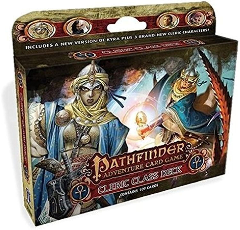 barato en línea Pathfinder Adventure Coched Juego  Class Deck  Cleric by by by Paizo Publishing  descuento de ventas en línea