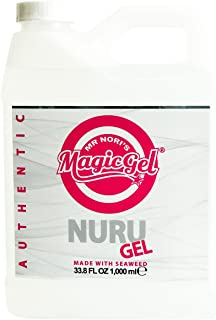 Magic Gel Nuru Massage Gel Authentic 33.8 Ounces