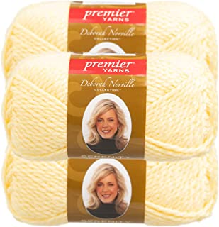 Deborah Norville Collection Serenity Chunky Solid Yarn-Baby Yellow