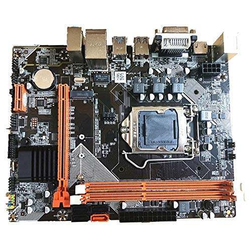Andifany Placa Base B75 Placa Base de Escritorio M.2 LGA1155 para I3 I5 I7 Soporte de CPU Memoria Ddr3 Placa Base LGA1155