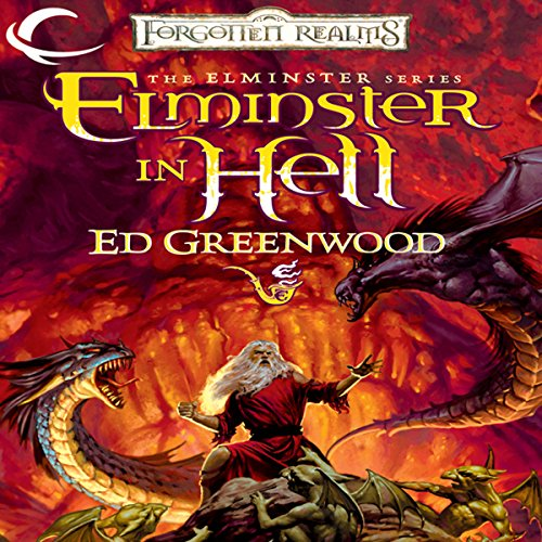 Elminster in Hell audiobook cover art