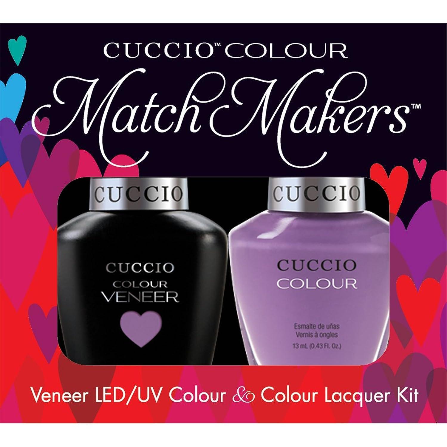 コアアヒル提出するCuccio MatchMakers Veneer & Lacquer - Cheeky in Helsinki - 0.43oz / 13ml Each
